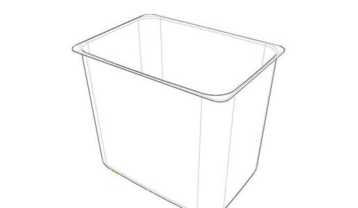客户委托我司对一塑胶桶做配方还原